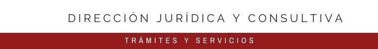 DIRECCIÓN JURÍDICA Y CONSULTIVA